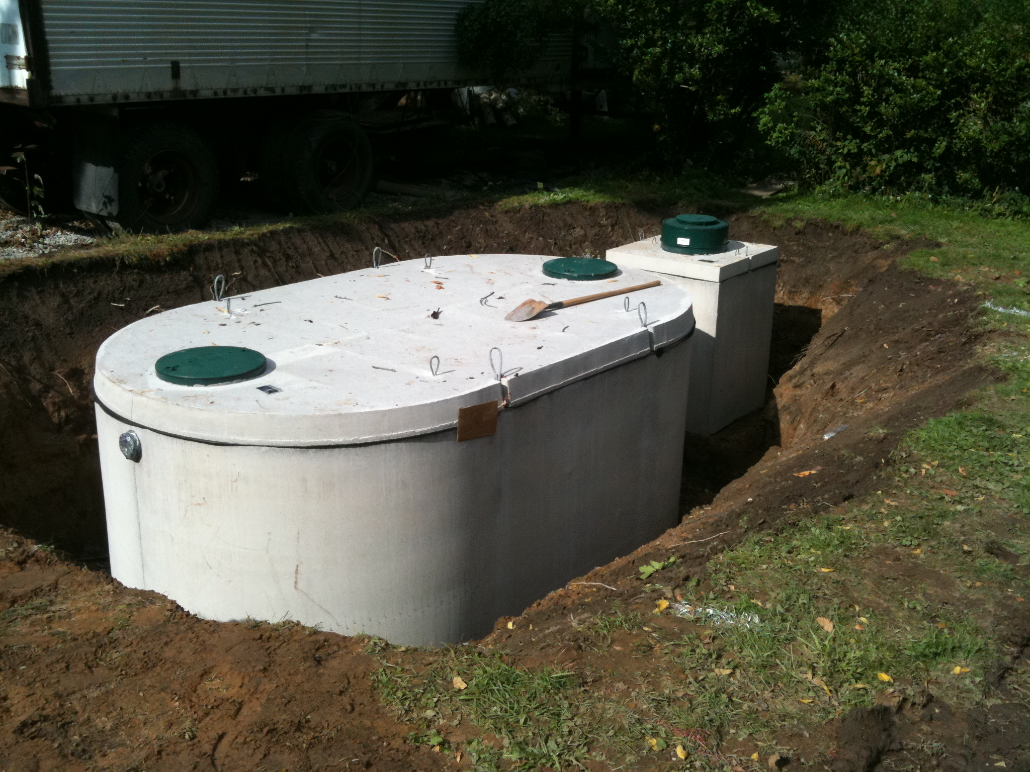 Home page for Septic tank fumes in house