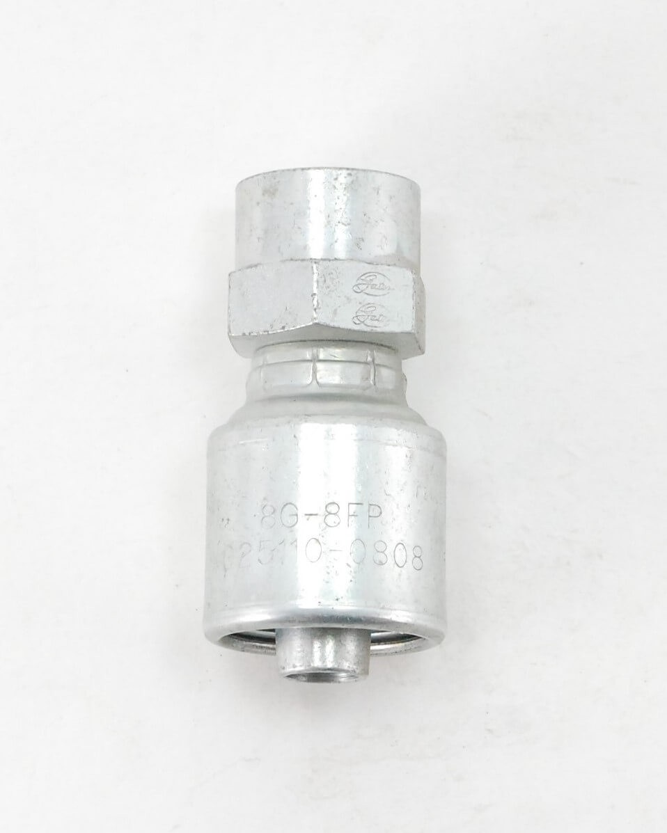 Straight Adapter, without 30 Degree Cone Seat, FPT
