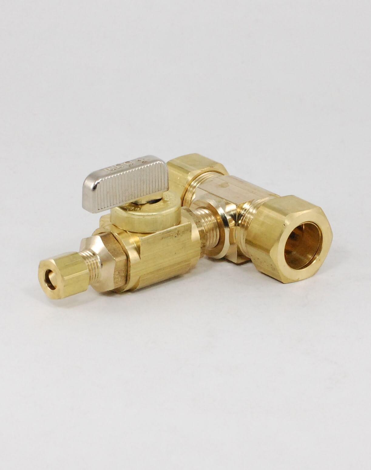 Dahl solderless kit ball valve shut off valves