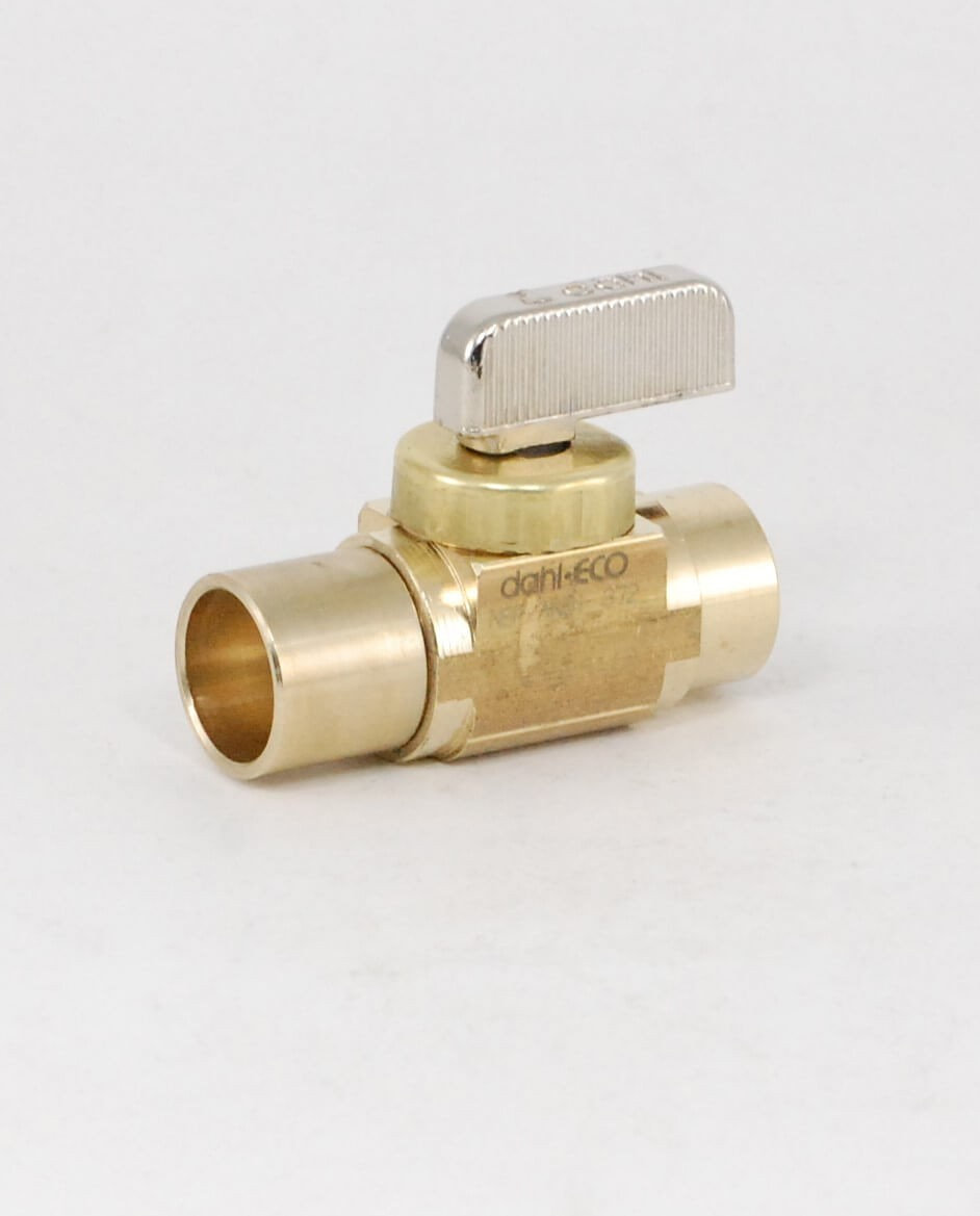 Quot dahl brass ball valve c shut off valves