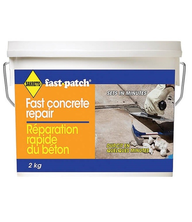 Sakrete Fast Patch, Fast Concrete Repair