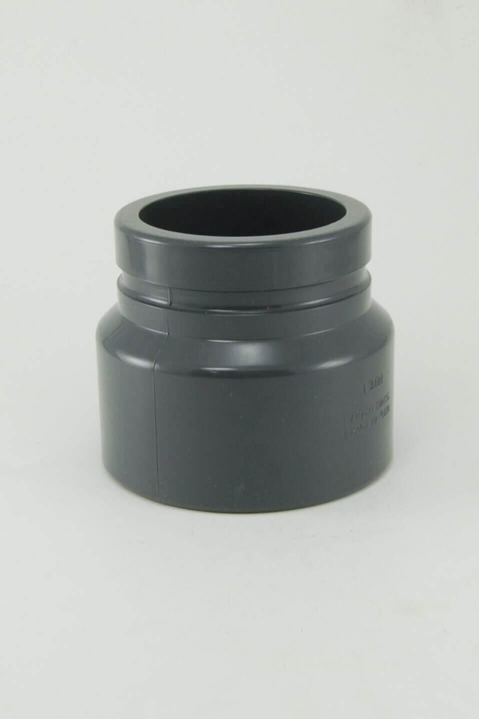 Sch grey pvc coupling grooved s grv schedule